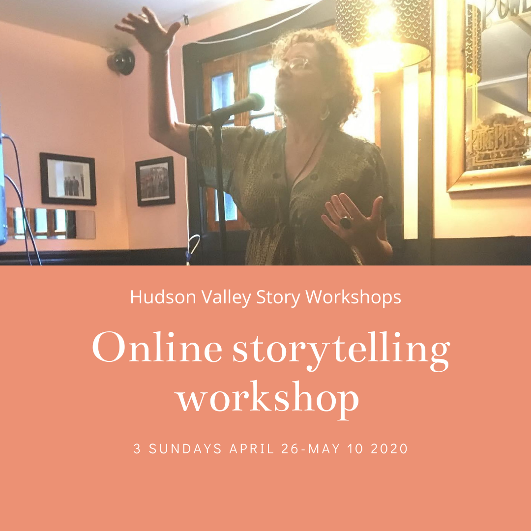 Online storytelling workshop